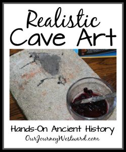 Realistic Cave Paintings: An Ancient History Art Project