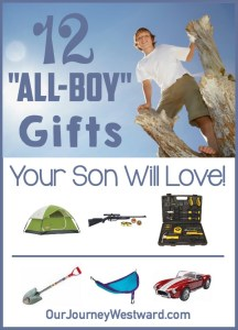 "12 ""All Boy"" Gifts Your Son Will Love"