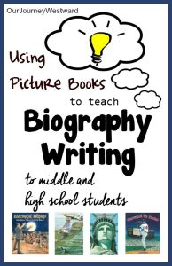 Using Picture Books To Teach Biography Writing