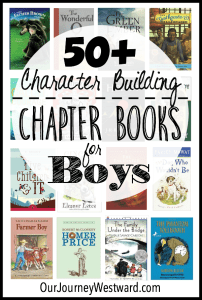 Character Building Chapter Books for Boys