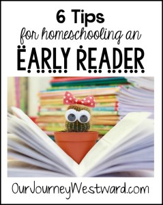 6 Tips for Teaching Early Readers