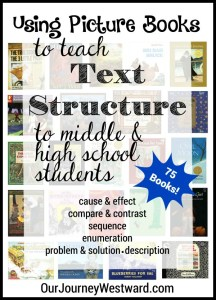 Using Picture Books to Teach Text Structure
