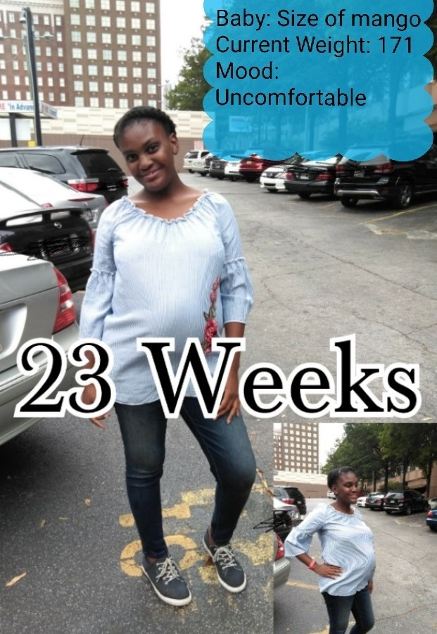 Pregnancy Update: 23 Week Appointment & We Have A Name!