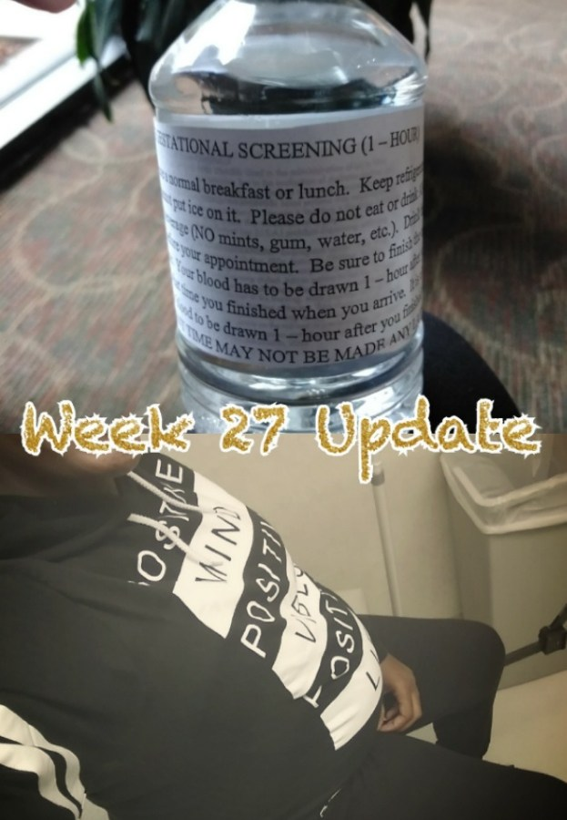 Pregnancy Update: Week 27 Update & Doctor's Appointment
