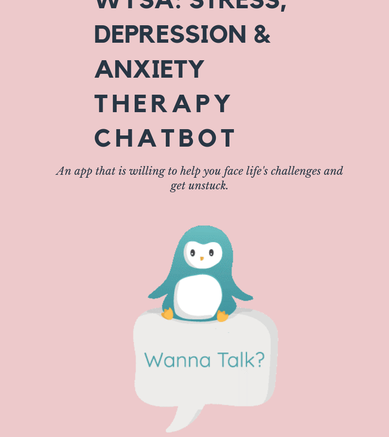 Wysa: stress, depression & anxiety therapy chatbot Review