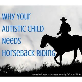 Why Your autistic child needs Horseback riding