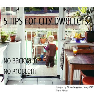 5 tips for apartment dwellers