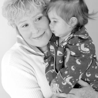 Deb Herdman with baby 'Grace'
