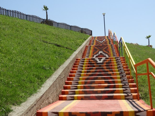 Colorful Stairs, Tirana