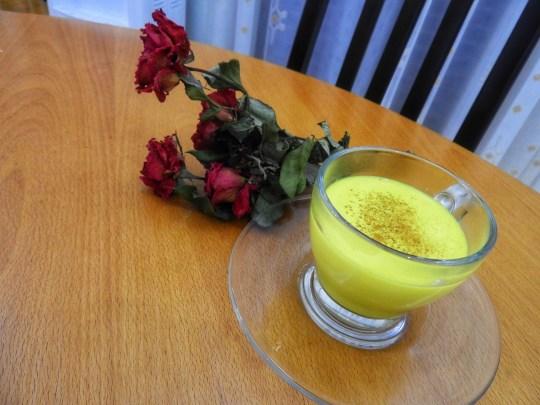 Golden Milk, a.k.a. Turmeric Tea