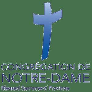 Our Lady of Peace - Catholic Church - Congregation De Notre-Dame Logo - Innisfail, Alberta