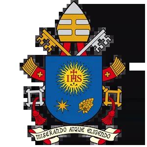 Our Lady of Peace - Catholic Church - Pope Francis Logo - Innisfail, Alberta