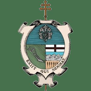 Our Lady of Peace - Catholic Church - St. Joseph Seminary Logo - Innisfail, Alberta