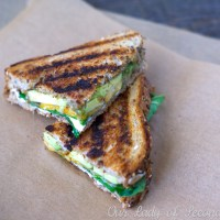 Grilled Cheese with Spinach & Avocado