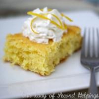 3 Ingredient Lemon Cake