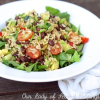 Zesty Black Bean & Brown Rice Salad