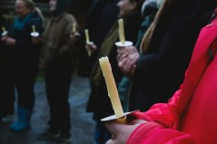 Guests gather for Easter vigil