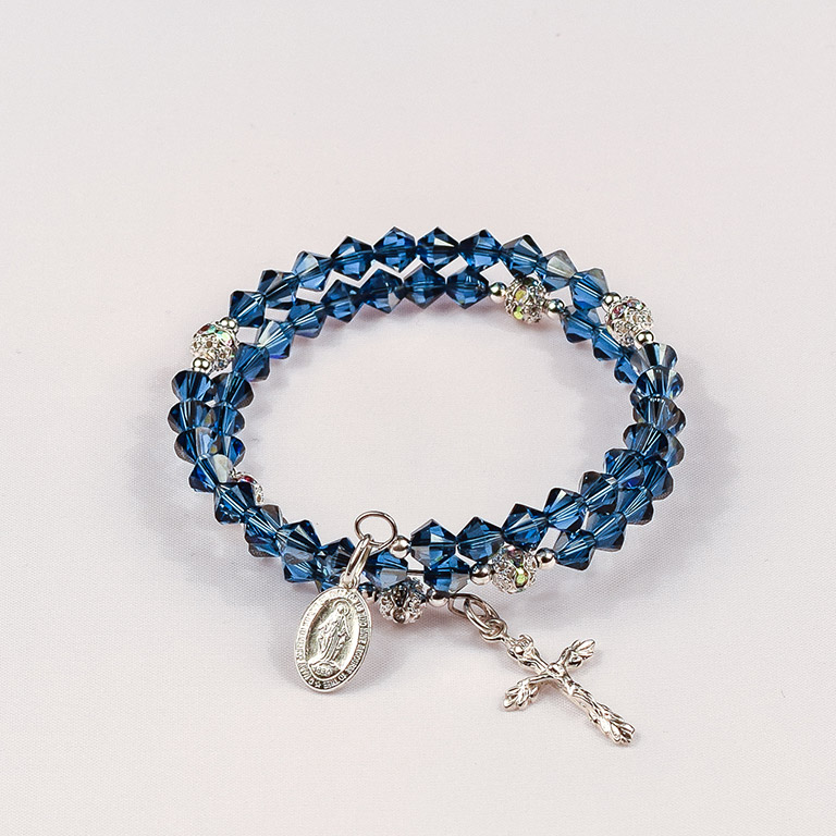 Crystal-Creations-Sapphire-Satin-Sterling-Silver
