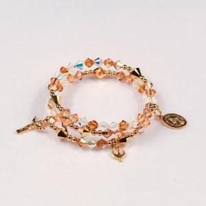 Holy Trinity Rosary Bracelet