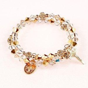 easter morning rosary bracelet