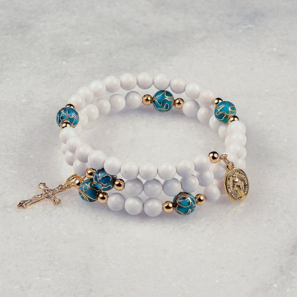 Mary Immaculate Rosary Bracelet