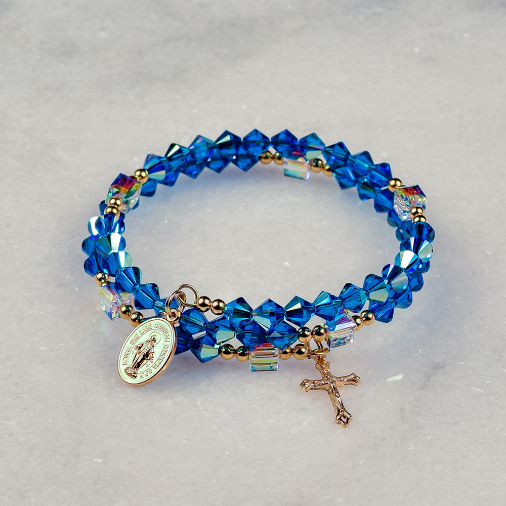 Star of the Sea Rosary Bracelet