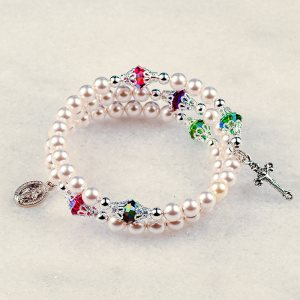 Gate of Heaven Rosary Bracelet