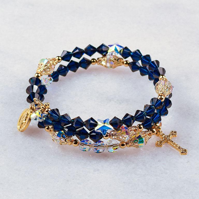 O Holy Night Rosary Bracelet