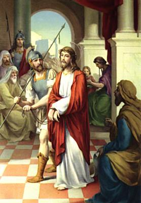 Gesù è condannato a morte