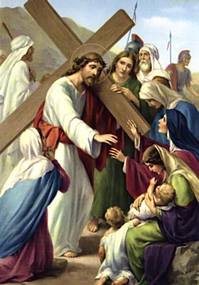 Gesù parla alle donne di Gerusalemme