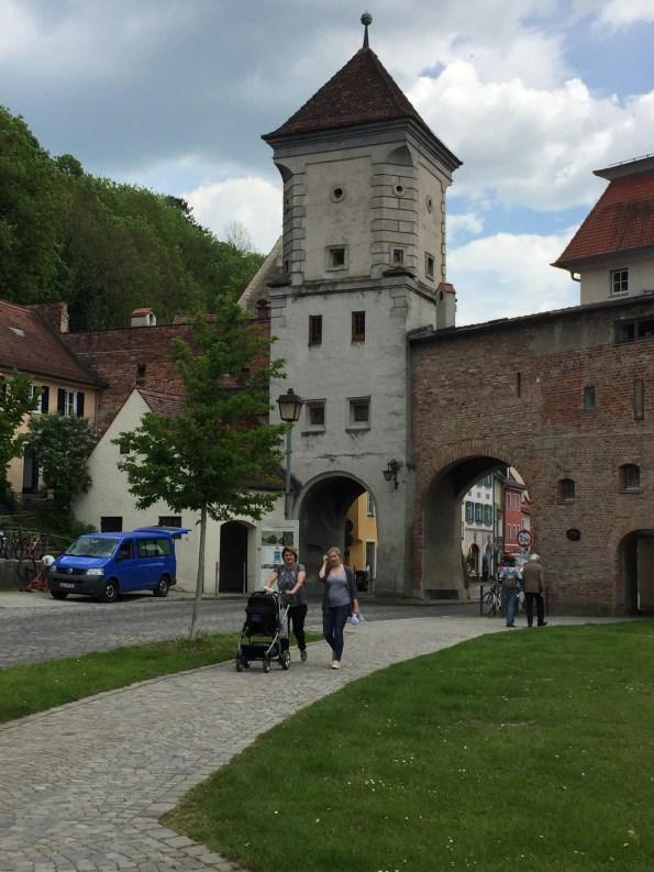 Landsberg entrance gate