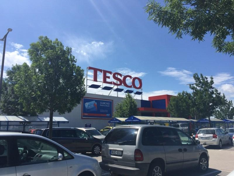 Tesco In Hungary
