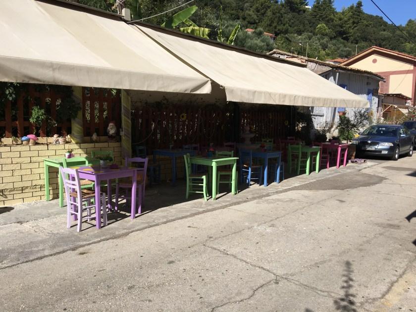 Cafe, Katakolon Greece