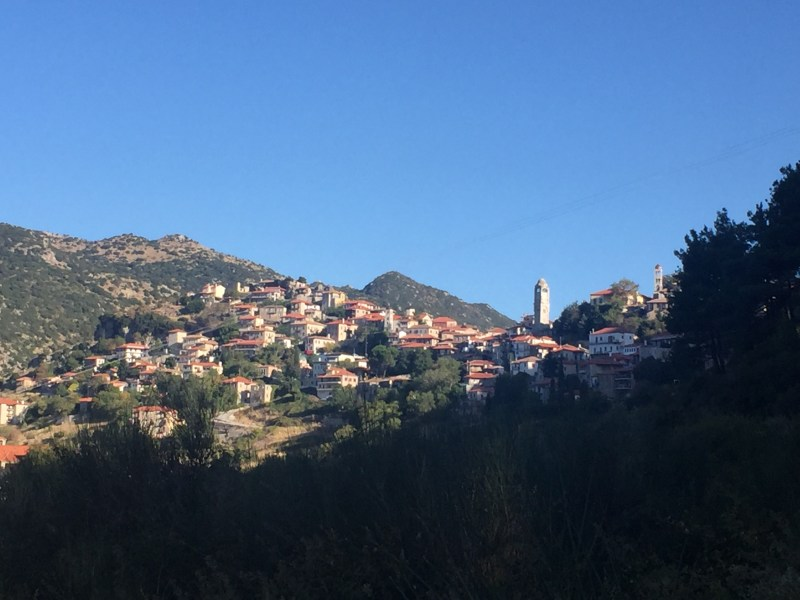 Dimitsana village Greece