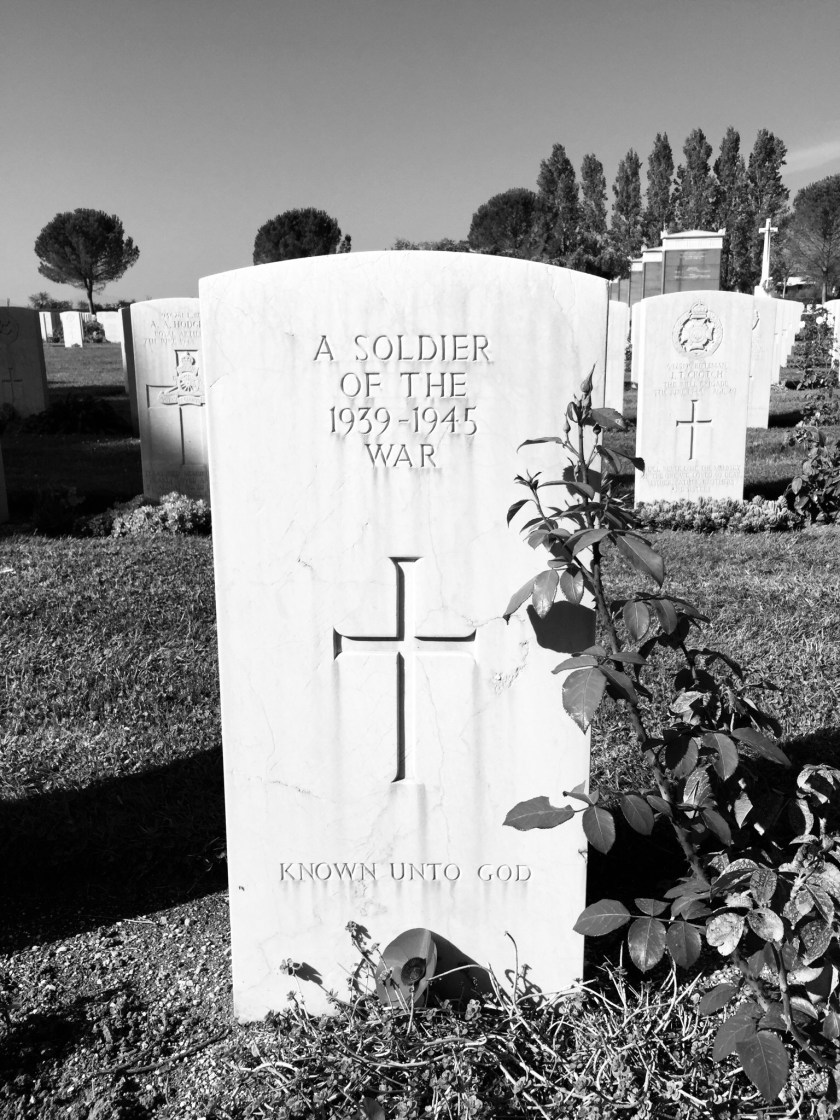 Unknown Grave Monte Cassino, Italy