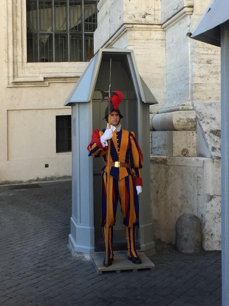Swiss guard - Vatican City Italy
