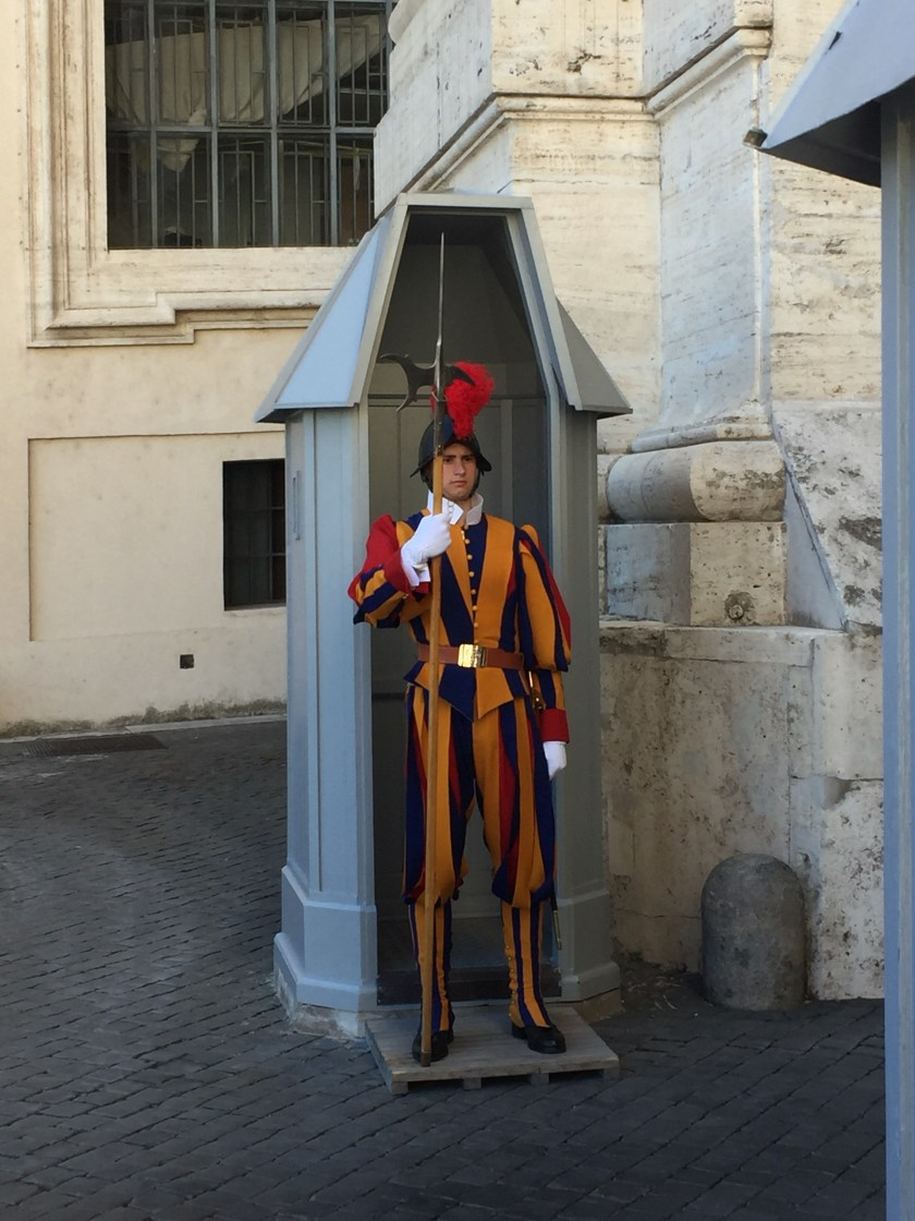 Swiss guard - Vatican City Italy