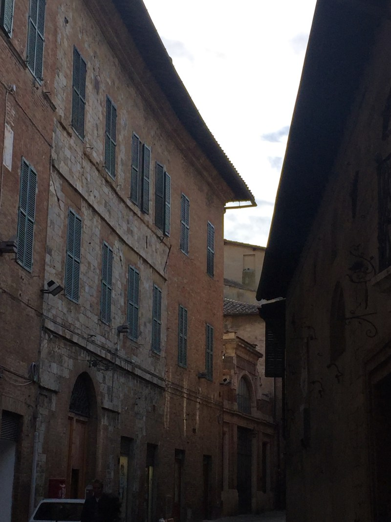 More perfect narrow streets in Siena