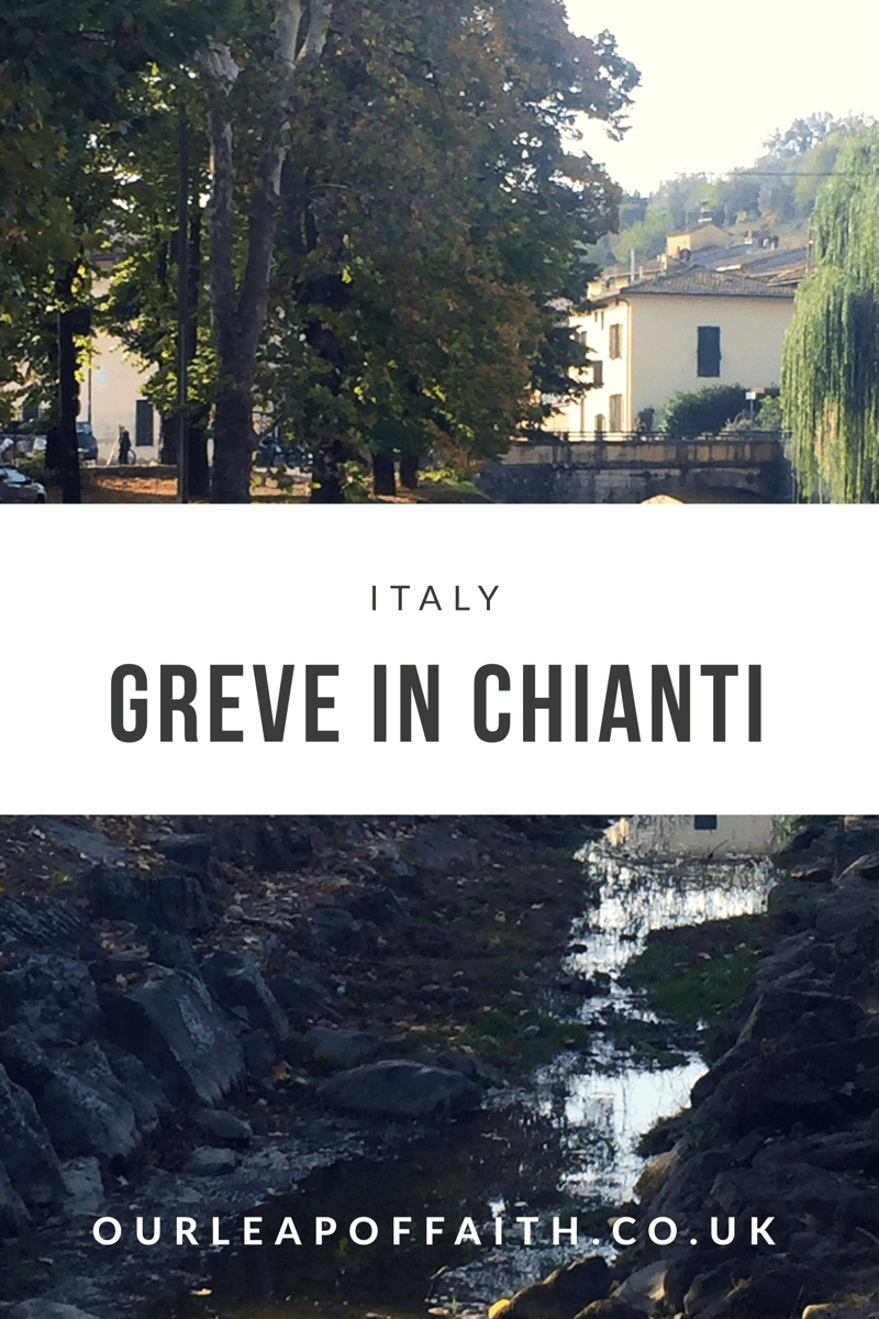 Greve in Chianti- a European . Motorhome travel blog
