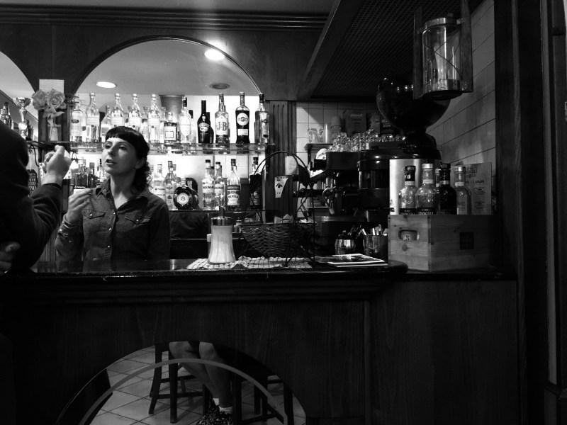 The perfect little bar in Castelnuovo di Garfagnana, Italy - epic motorhome blog