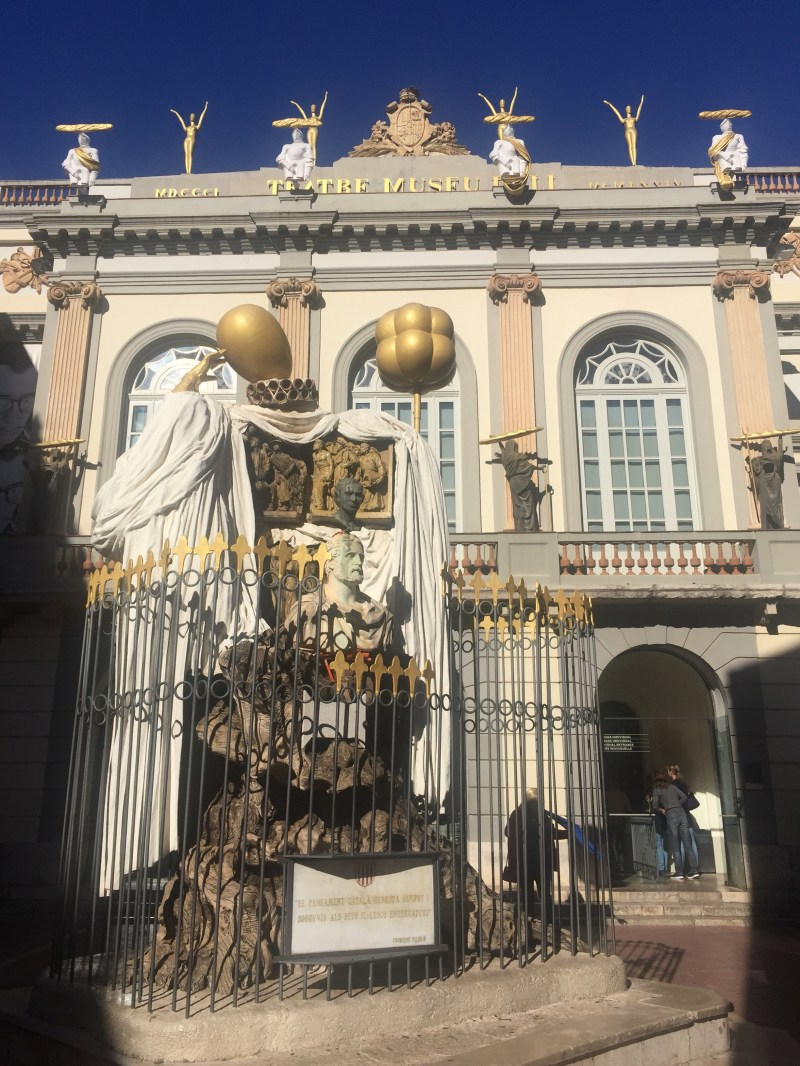 Dalí's most important legacy to the city of Figueres is the theatre-museum that bears his name. It is one of the most popular museums in Europe
