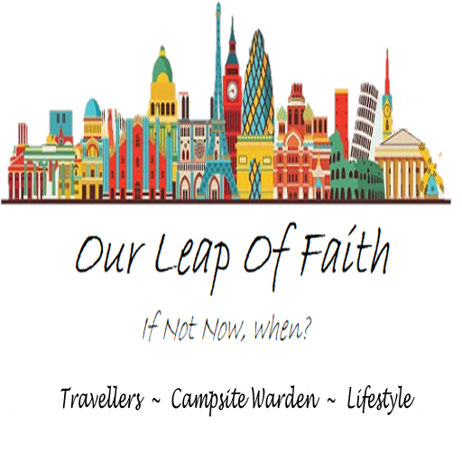 Our leap of faith , motorhome travellers, campsite wardens and lifestyle bloggers