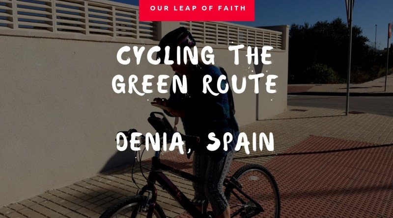 Denia Vlog Part Seven – Cycling the Green Route