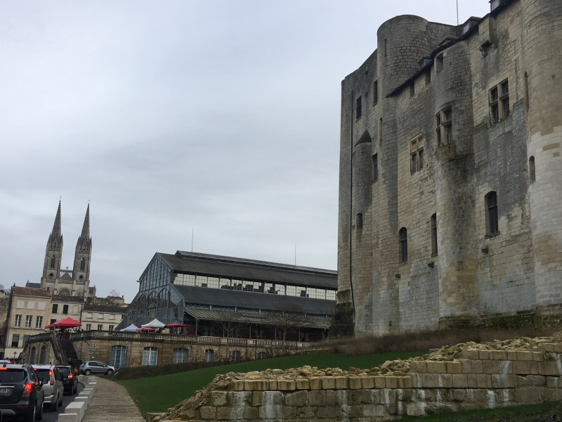 Ourleapoffaith visit niort, France in a motorhome - the stunning castle