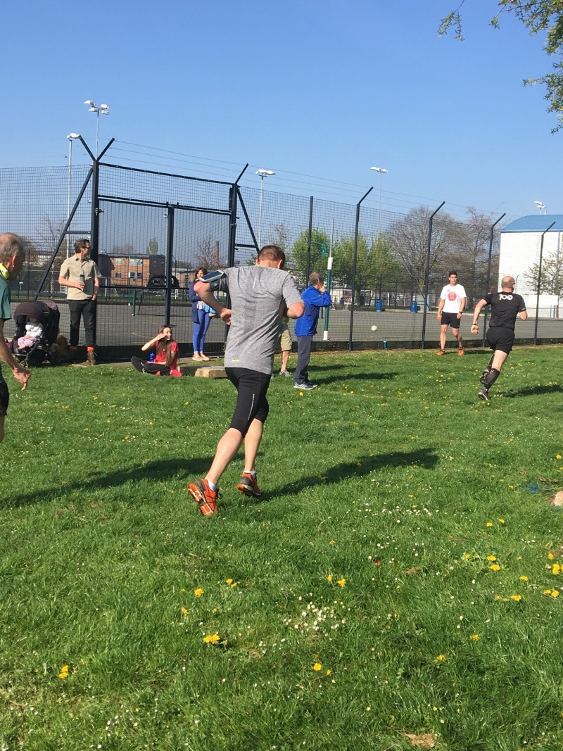 Paul from our leap of faith takes on the weekly challenge of a ParkRun