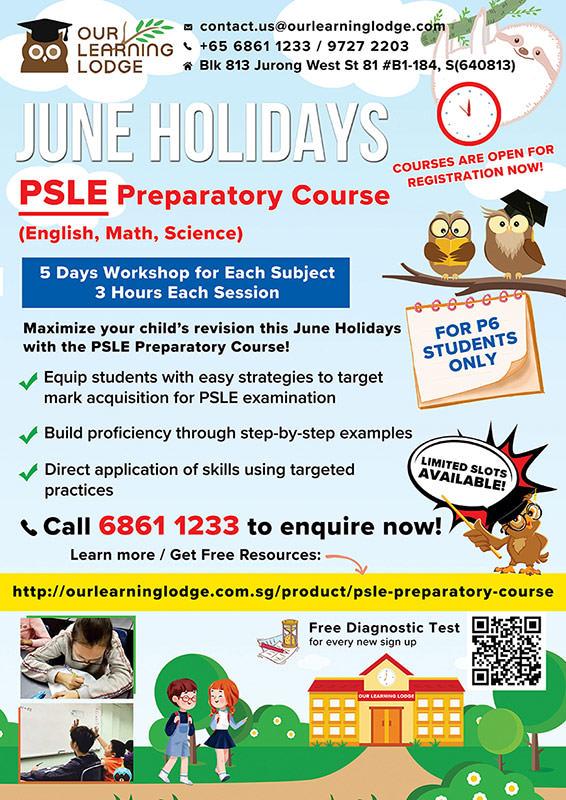 P6 Preparatory Course 2021
