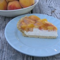 Peach Cheese Cake