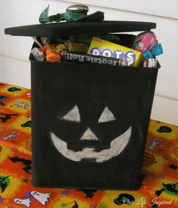Jack o lantern box
