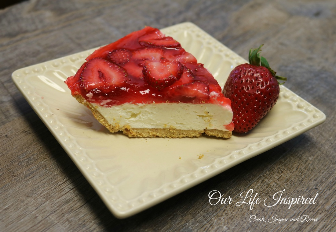 No Bake Strawberry Cheese Cake