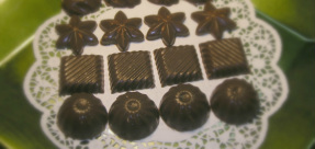 Coconut Oil Lime Chocolates